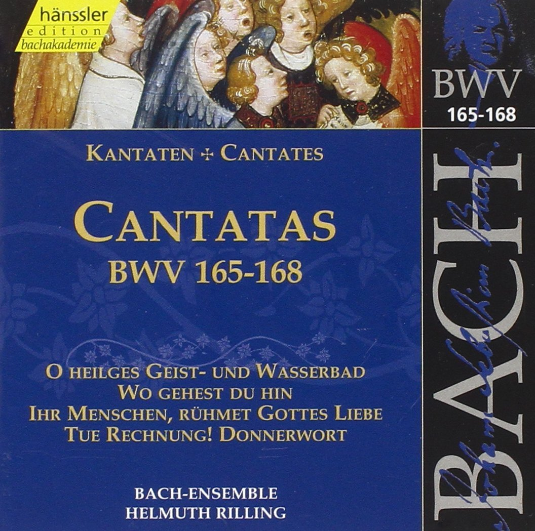 Cantata BWV 168 - Details & Discography Part 1: Complete Recordings